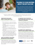 alking to Your Preteen About HPV